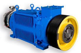 elevator gearless motor