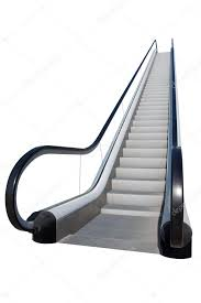 Escalator staircase