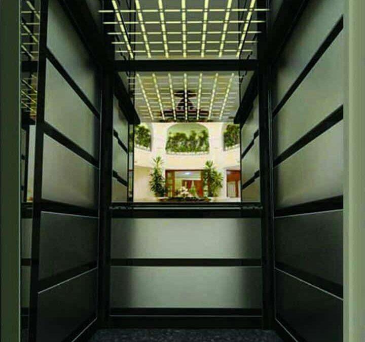 کابین آسانسور و بازسازی و تزئین آن
