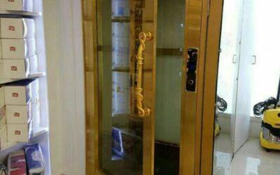 درب لولایی استیل آسانسور